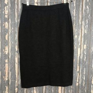 ST. JOHN COLLECTION gray Knit Pencil Skirt size 10